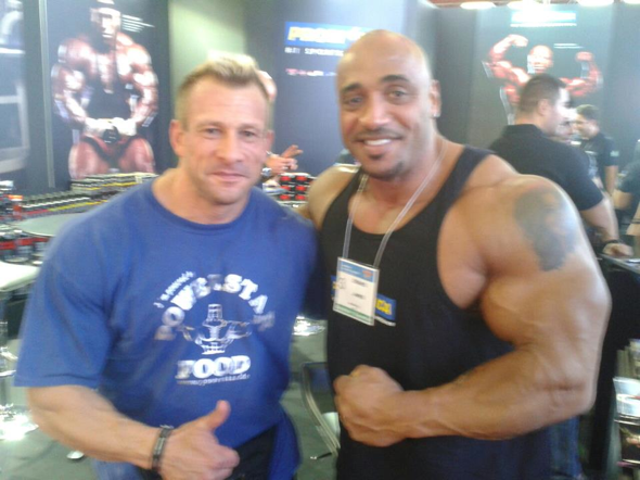 arnold classic europe 2012 madrid achim weitz powerstar food
