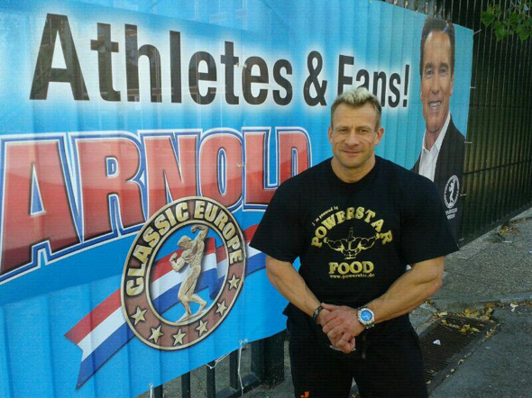 powerstar food athlet achim weitz arnold classic europe 2012 madrid