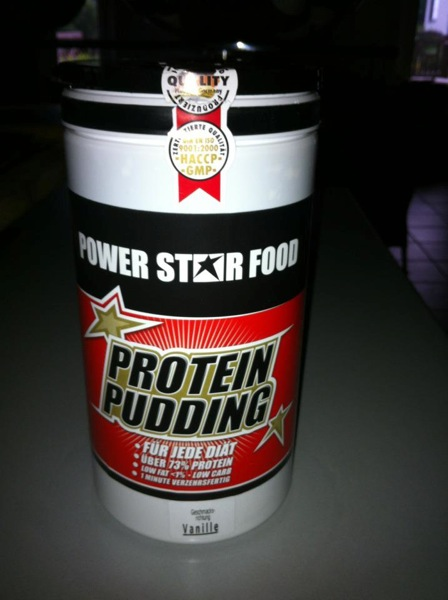 POWERSTAR FOOD Protein Pudding Vanille