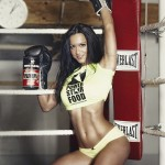 POWERSTAR FOOD IFBB Athletin Antonella Trantaki Pump 7 Boxing