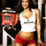 POWERSTAR FOOD IFBB Athletin Antonella Trantaki Whey Gold