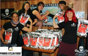 POWERSTAR  FOOD für SEA SHEPHERD CONSERVATION SOCIETY