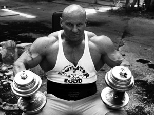 POWERSTAR FOOD Athlet Martin Dudas für die Mr. Olympia in Moskau