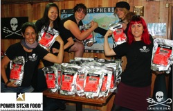 Sea Shepherd thank you power star food Kopie