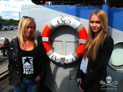 Bob Barker Sea Shepherd POWERSTAR FOOD VEGAN SUPPS Nic und Makayla