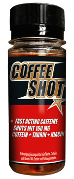 Coffee Shot Vegan Supps fuer Sea Shepherd Conservation Society