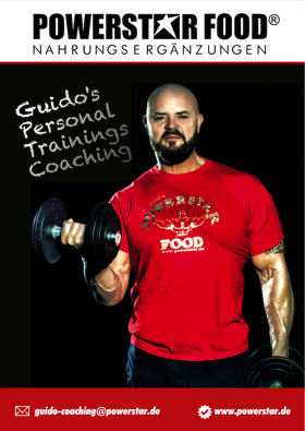 Trainings-Coaching Guido Conrad POWERSTAR FOOD