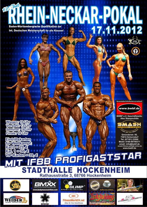 Achim Weitz Rhein Neckar Pokal für Powerstar Food