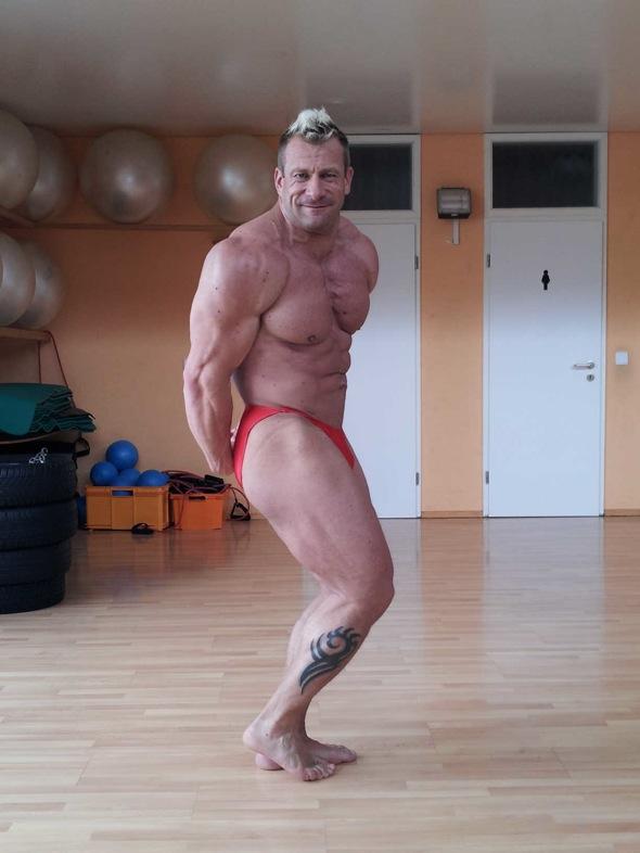 POWERSTAR FOOD Athlet Achim Weitz Wettkampfform
