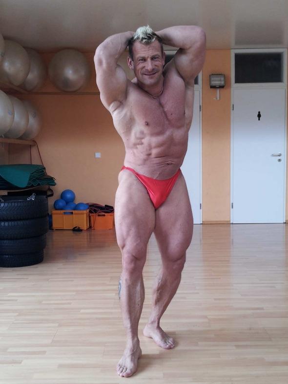 Powerstar Food Bodybuilding Athlet Achim Weitz