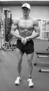 Denis Tengler POWERSTAR FOOD Athlet des Monats 12/2009