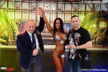 POWERSTAR FOOD Athletin Antonella Trantaki Fibo DBFV Gewinnerin