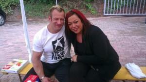Achim und Melanie hatten einen tollen Tag mit vielen neuen und sehr netten Bekanntschaften, Danke an alle die da waren!