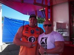 Martin Dudas bei der DM Strongman