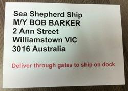 PSF Produkte für Sea Shepherd Australia