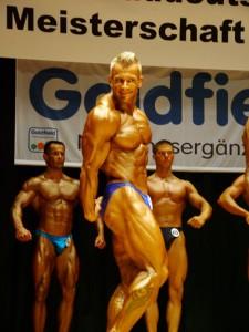 Achim Weitz bei der Süddeutschen Meisterschaft 2004, Sieger Männer II bis 80 kg