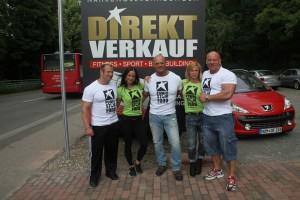 Ein ganz besonderer Tag im Jahr 2013, die Einweihung des neuen Powerstar Food Direktshop in Homburg-Einöd