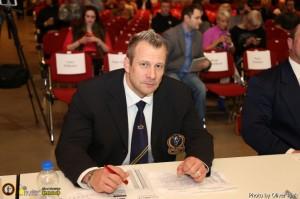 Achim Weitz als Kampfrichter bei der Internationalen Deutschen Meisterschaft 2013