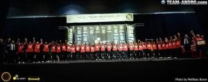 Das Team des Baden-Württembergischen Landesverbandes bei der Internationalen Deutschen Meisterschaft 2013 mit 26 Athleten am Start