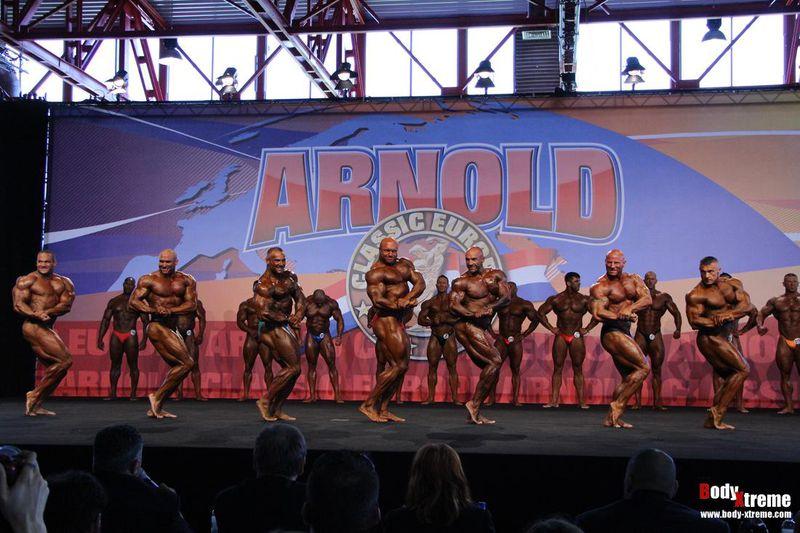 Martin Dudas POWERSTAR FOOD Sponsorathlet bei der Arnold Classic 2013
