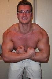 Athlet des Monats Maerz 2014 Marvin Paul Vor der Diaet 105kg  2