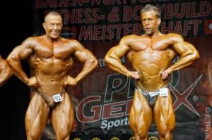 Kampf um den Sieger in der Männerklasse bis 90 kg, Bozo Petrovic und Chris Seitz