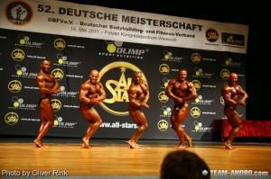 Gesamtsiegerstechen DM 2011 mit Achim Weitz