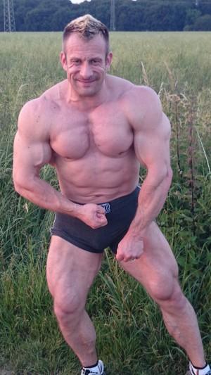 Sommer 2014, mit knapp 100 kg