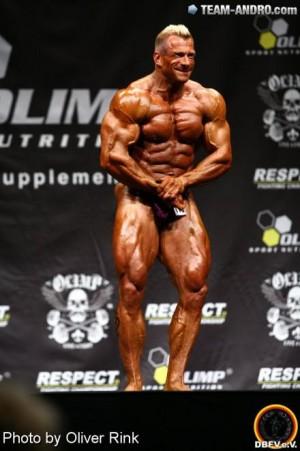 """""""Eine solche Form möchte ich auch in diesem Herbst wieder auf die Bühne bringen."""" Achim Weitz bei der Internationalen Deutschen Meisterschaft 2012"""