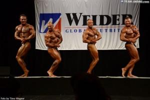 Gesamtsiegerstechen Deutsche Mastersmeisterschaft 2014, Vergleich seitliche Brust
