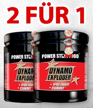 Powerstar Food Dynamo Exploder 2 fuer 1