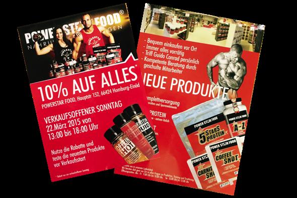 Flyer Verkaufsoffener Sonntag 2015