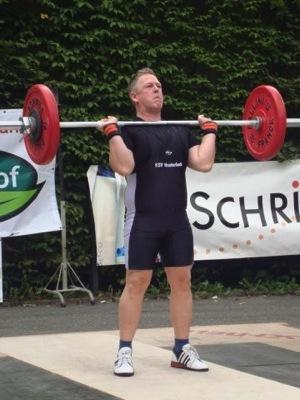 Herbert Leser PSF Athlet des Monats 03 2015 Gewichtheben