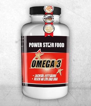 Omega 3 von Powerstar, wichtige Nahrungsergänzung nicht nur in der Diät!!!