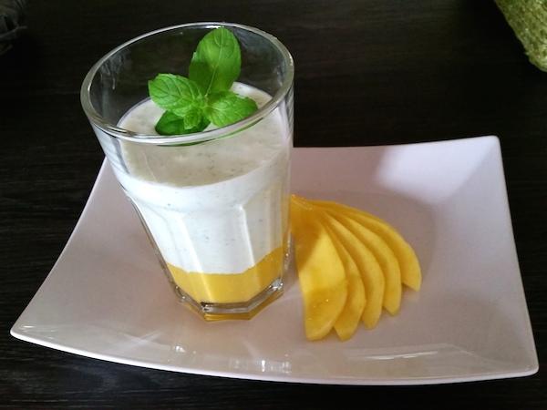 Rezept des Monars 09 2015 Mango Matcha Eiweiss Eis