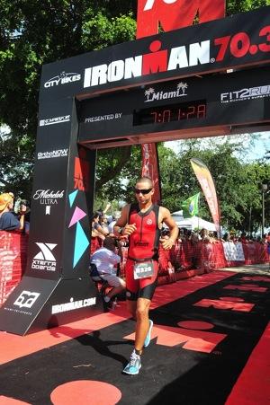 Gwen Le Tutour Ironman 70 3 Miami 2015 laufen