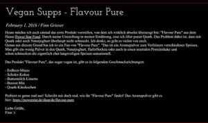 Finn Grieser PSF Blog